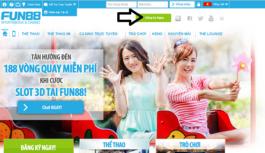 Cách đăng ký tài khoản cá cược tại nhà cái Fun88