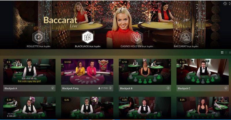 Nhà cái Vegas Casino